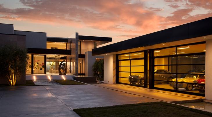 exterior elevation garage design