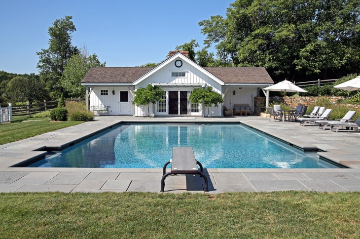 Exterior Front Pool Elevation