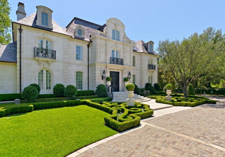 exterior elevation garden