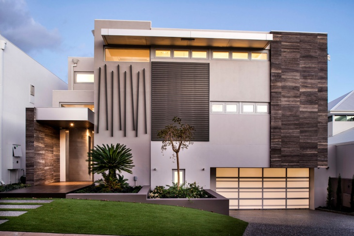 Luxury Exterior Elevation