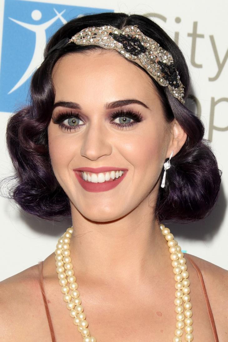 Katy Perry Flapper Bob Haircut
