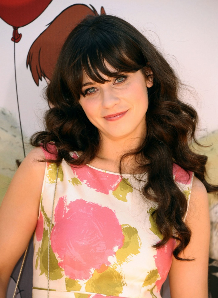 zooey deschanel flapper hairstyle for long hair