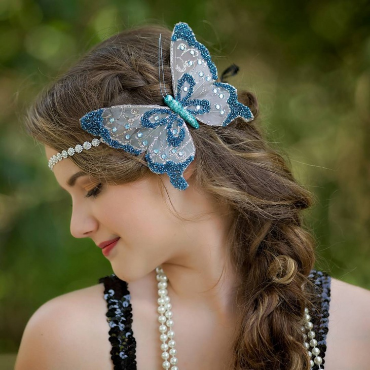 beautiful flapper hairstyle for women