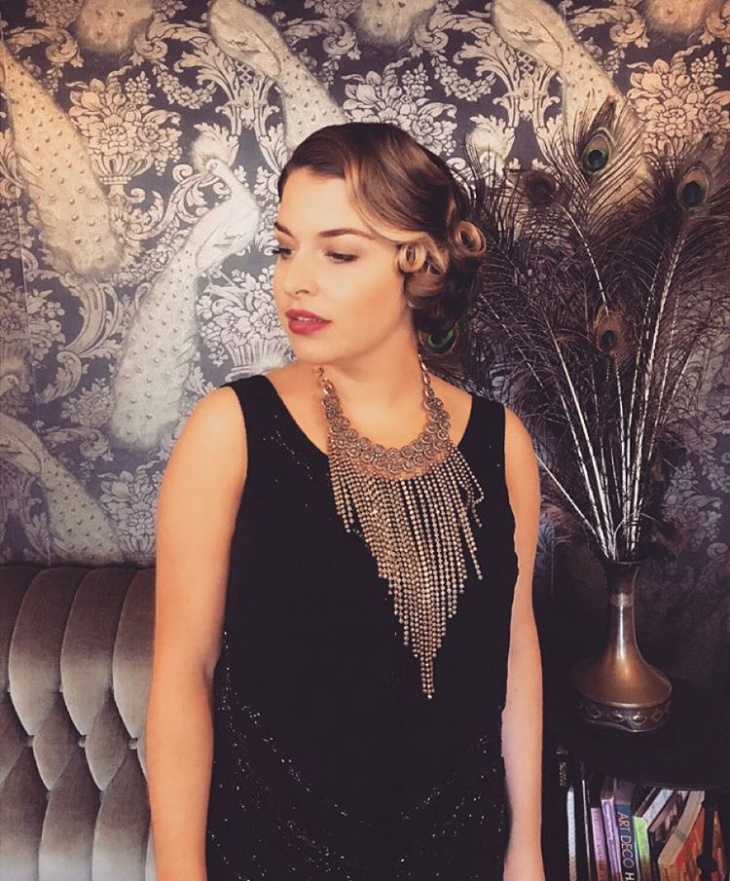 Awesome Flapper Hairstyle Idea