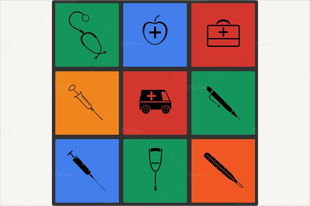 High Resolution Medical icons