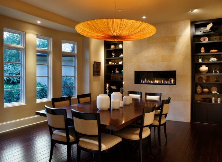 16 Dining Room Fireplace Designs Ideas Design Trends