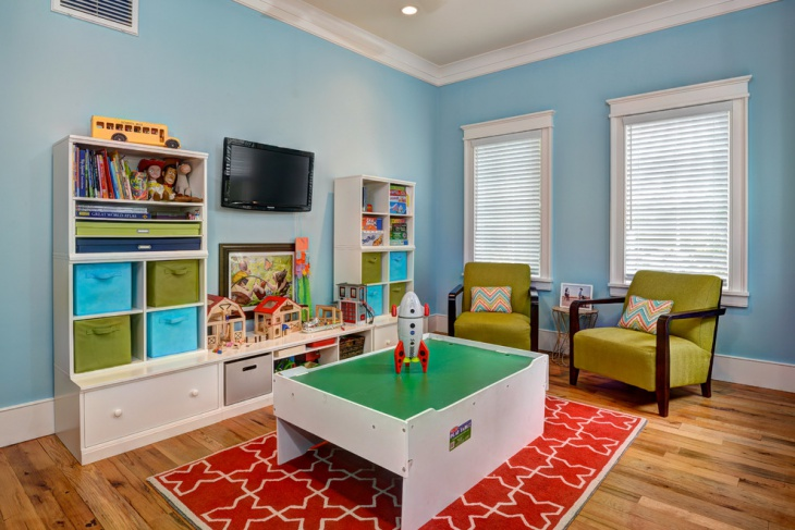 Toddler Boys Playroom Idea