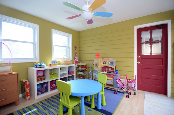Decorative Toddler Playroom Design