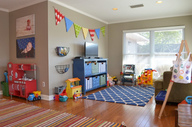 Toddler Playroom Flooring Idea