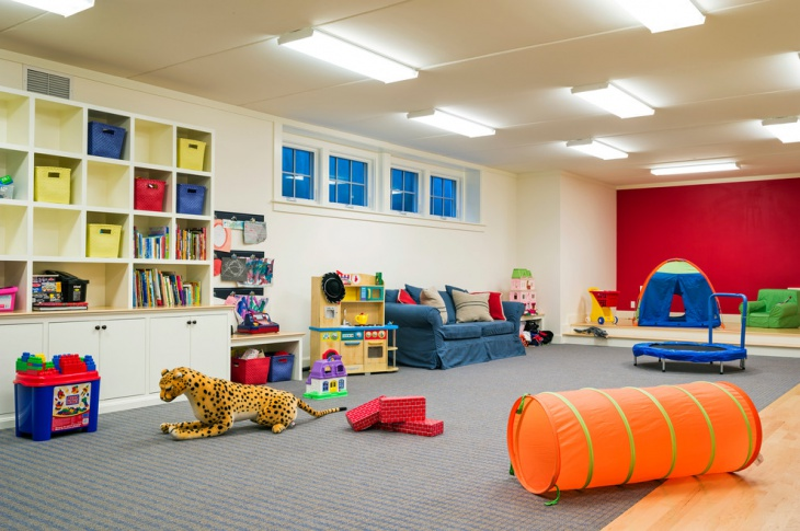 Traditional Toddler Playroom Design