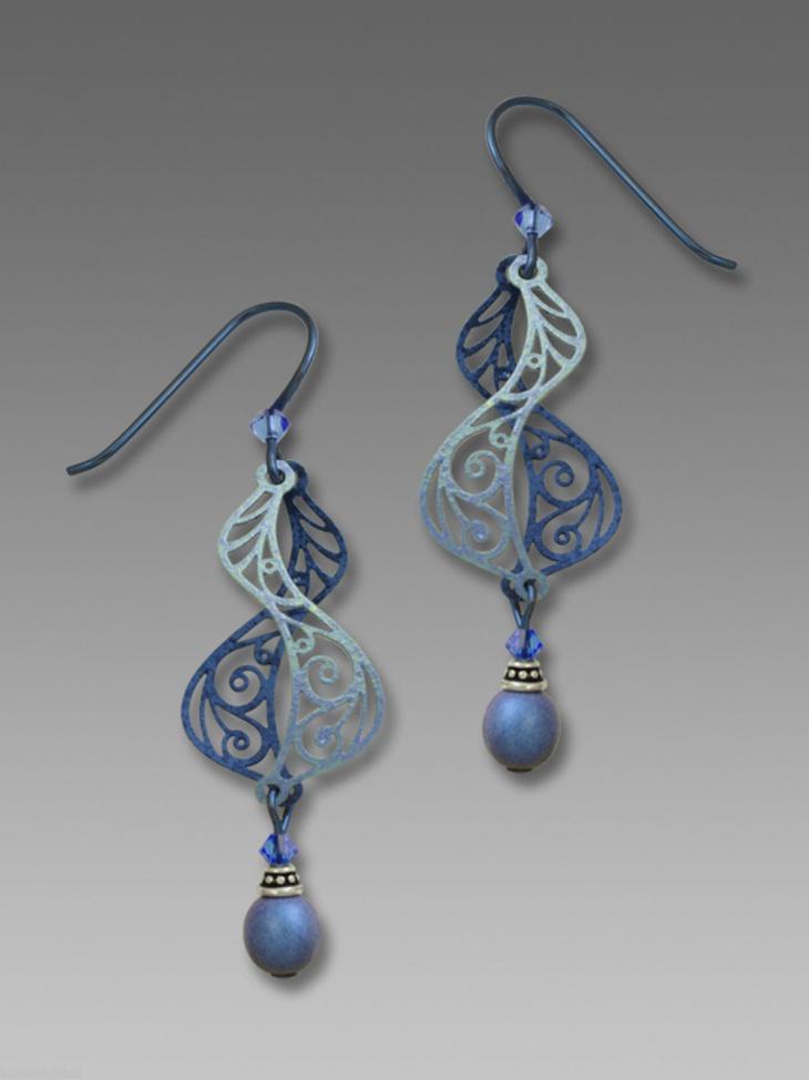 Filigree Beaded Earrings
