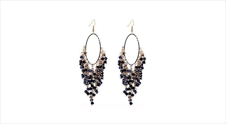Fashionable Beaded Earrings