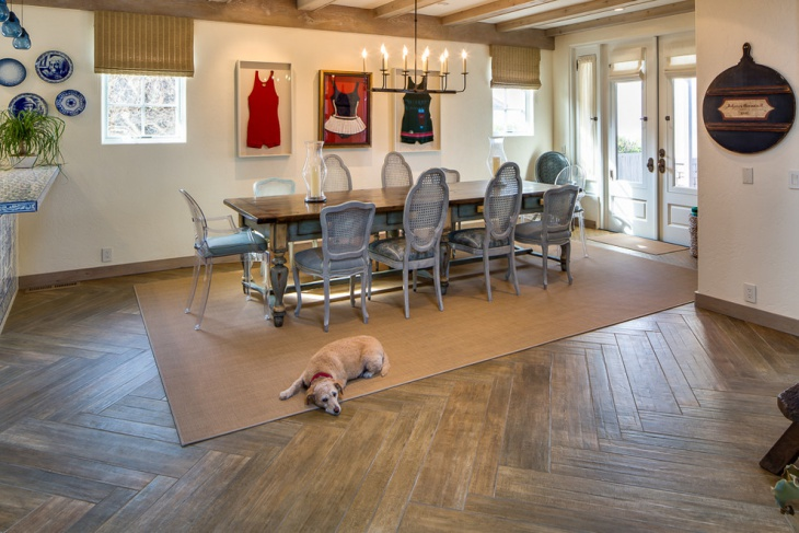 wood pattern flooring design