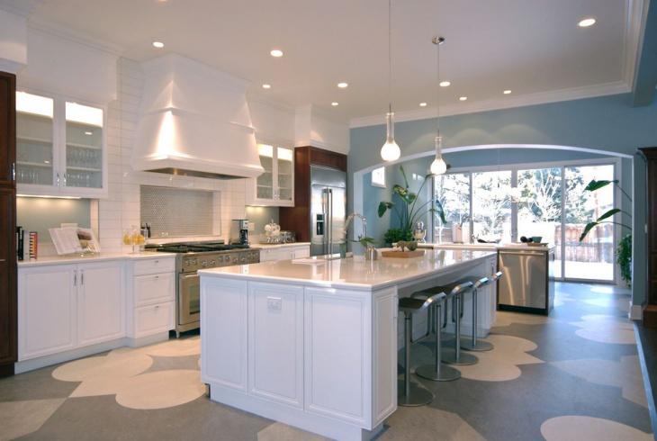modern flooring interior idea