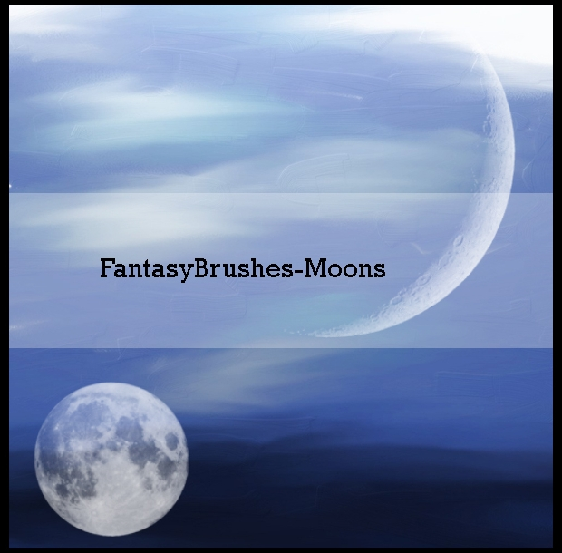 fantasy moon brushes for photoshop