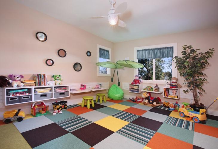 kids playroom carpet idea