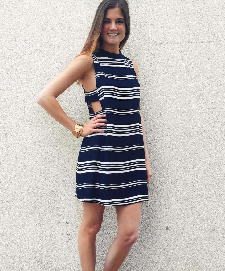 nautical mini dress idea