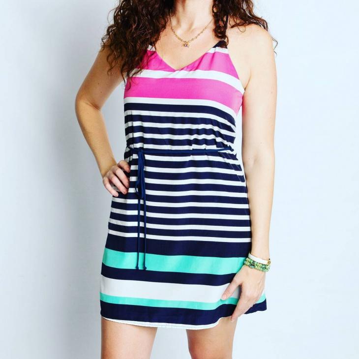 nautical summer dress design
