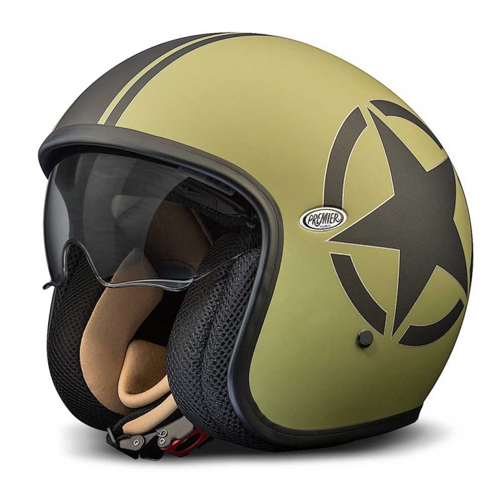 3. Premier Jet Vintage Helmet