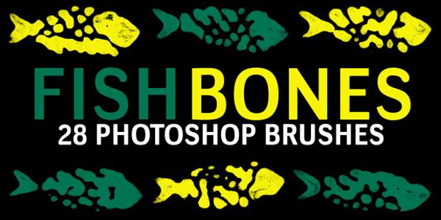 free fish bones brushes