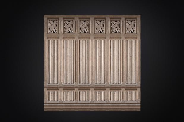 wooden 3d wall texture