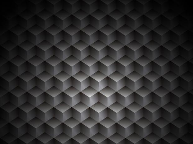 3d cubic metal texture