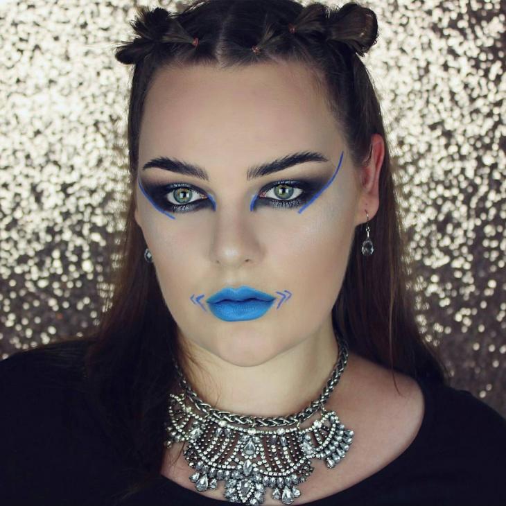 DIY Ninja Makeup