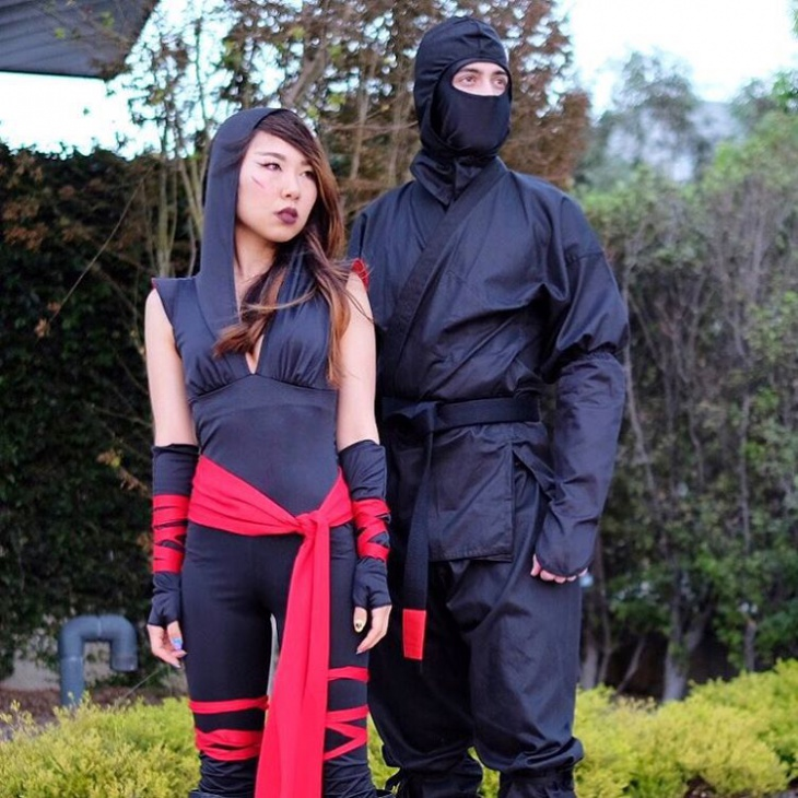 cool ninja costume idea