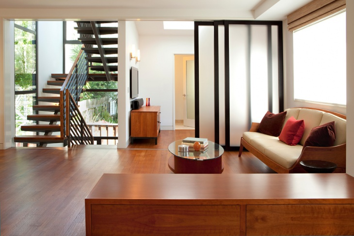 Sliding Door Wall Partition