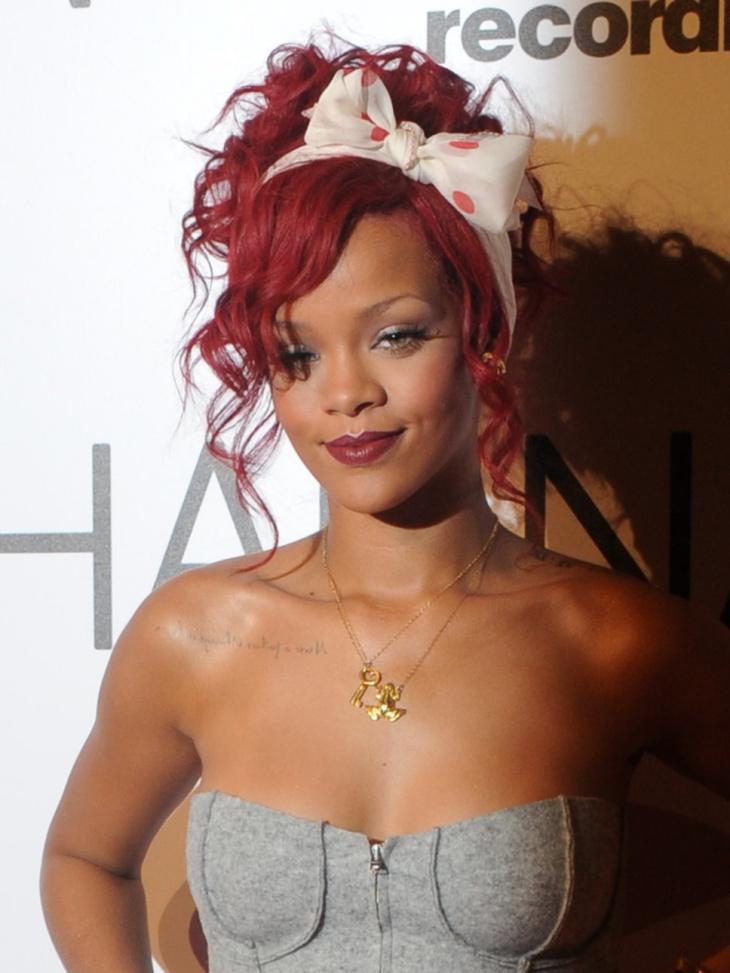 Rihanna Bow Hairstyle Design