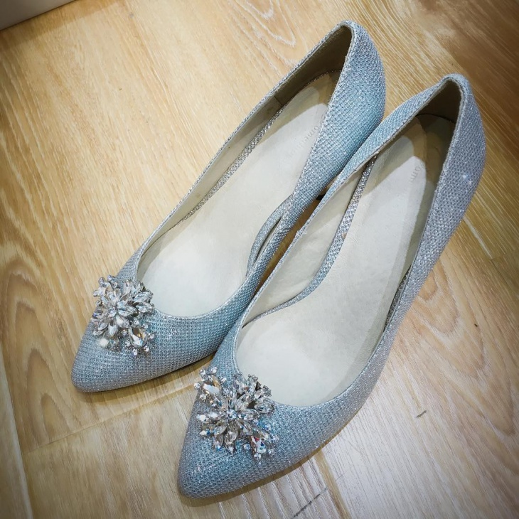 diy wedding shoes design