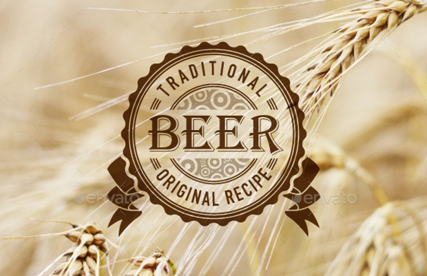 beer label logo collection