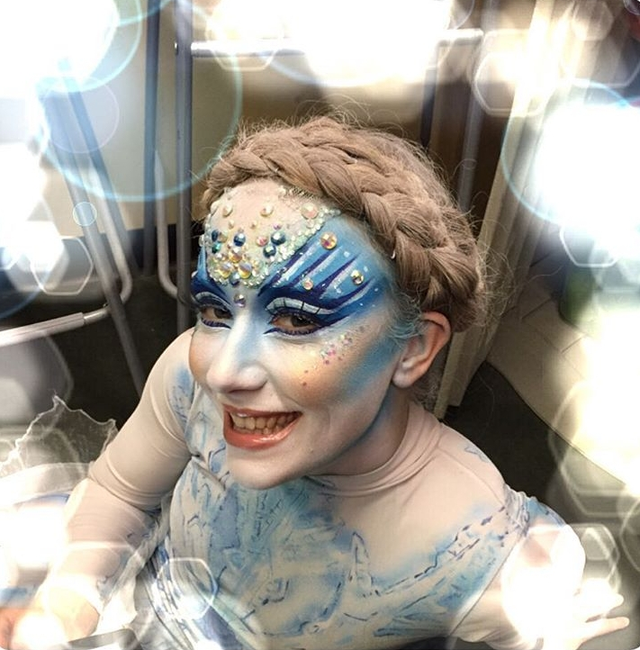 Fantasy Snowflake Makeup