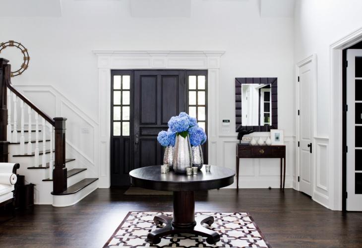 black hall table design