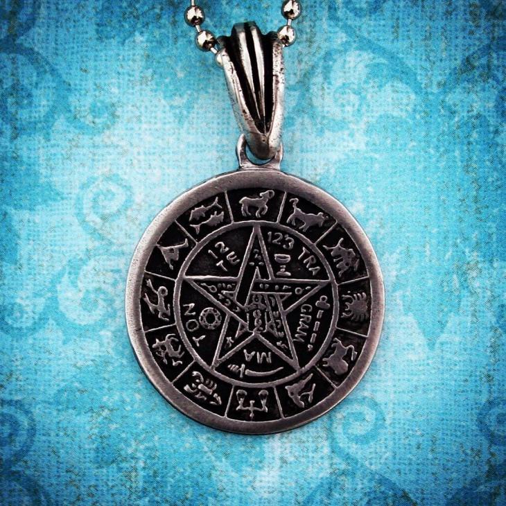zodiac signs jewelry model