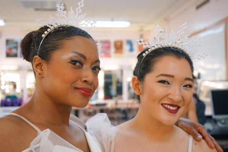 Snowflake Wedding Makeup