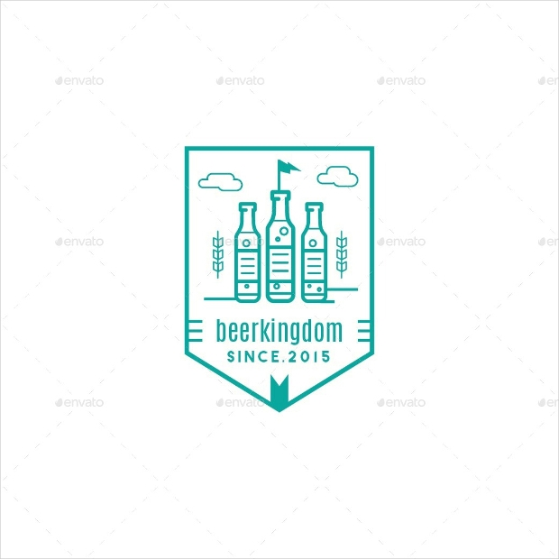 beer badge logo