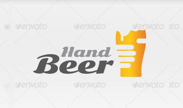 beer in hand logo