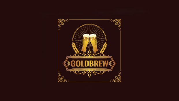 gold brewery logo design