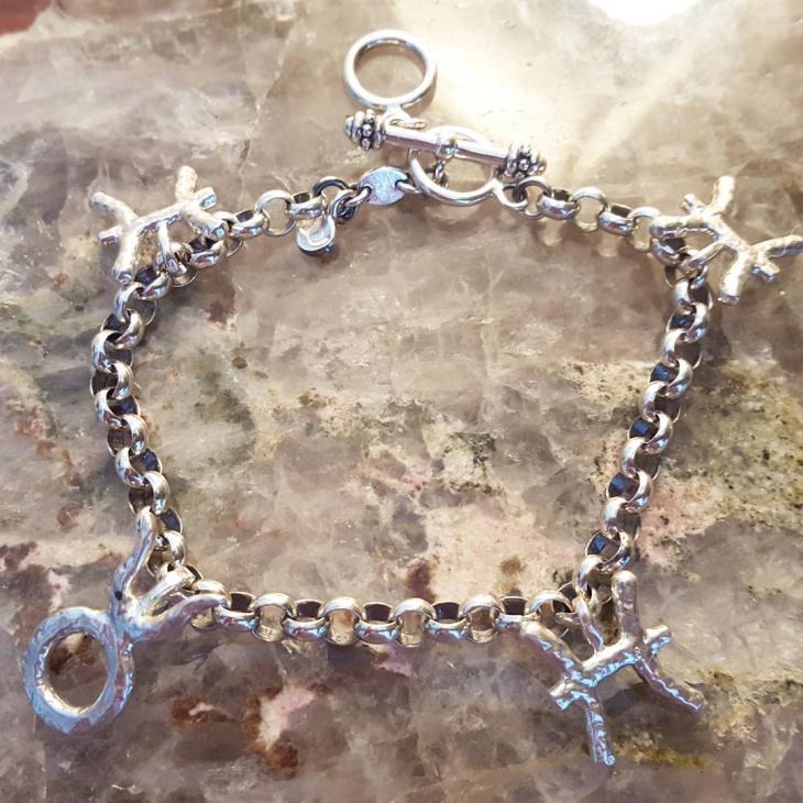 sterling silver bracelet design