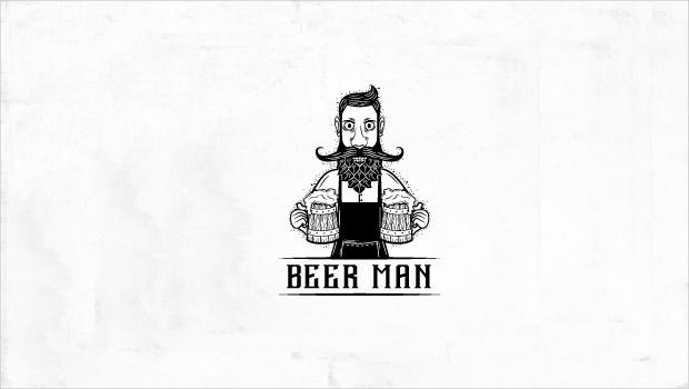 beer man logo