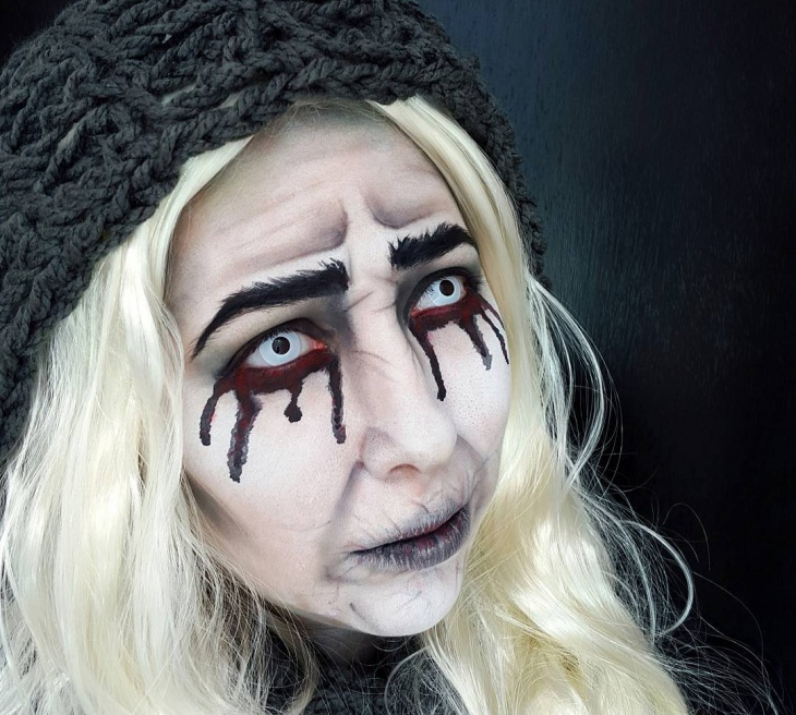 banshee makeup for halloween