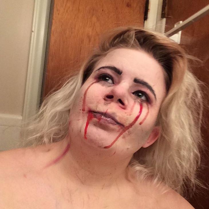 demonic banshee makeup