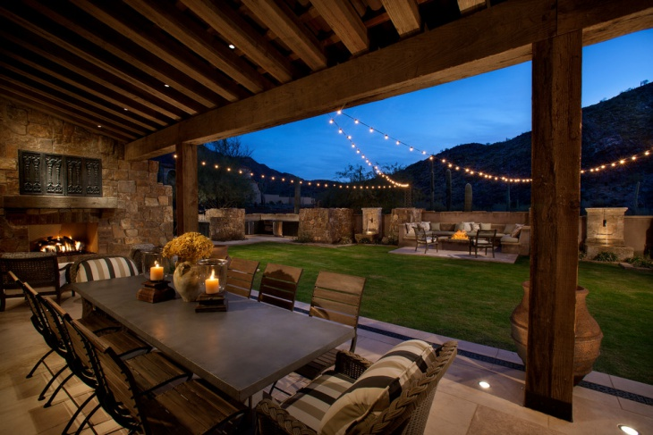16 Patio String Light Designs Ideas Design Trends
