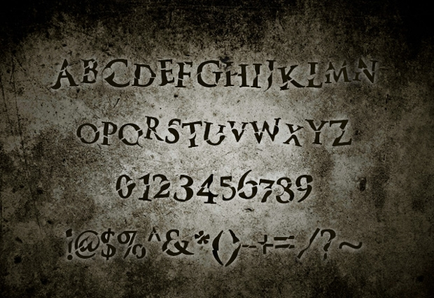 Monster Halloween Font