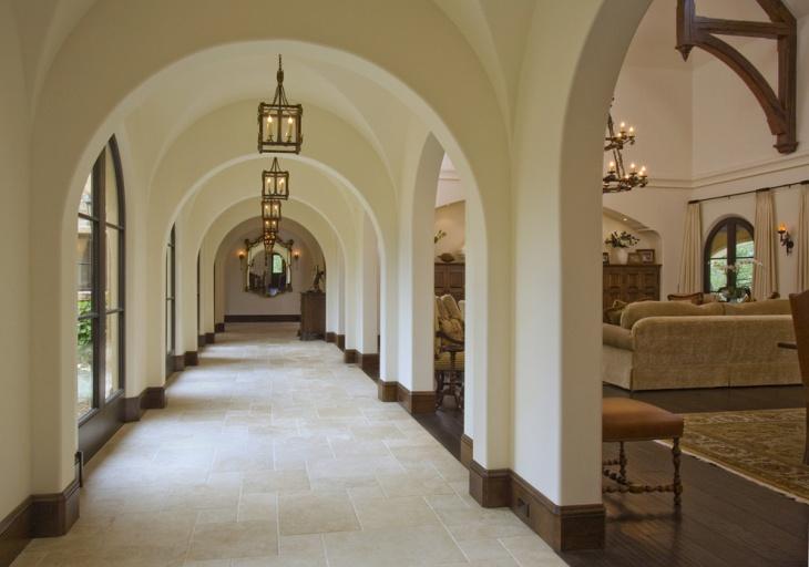 hallway flooring idea