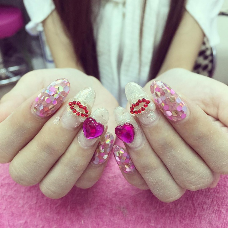 love barbie nail art