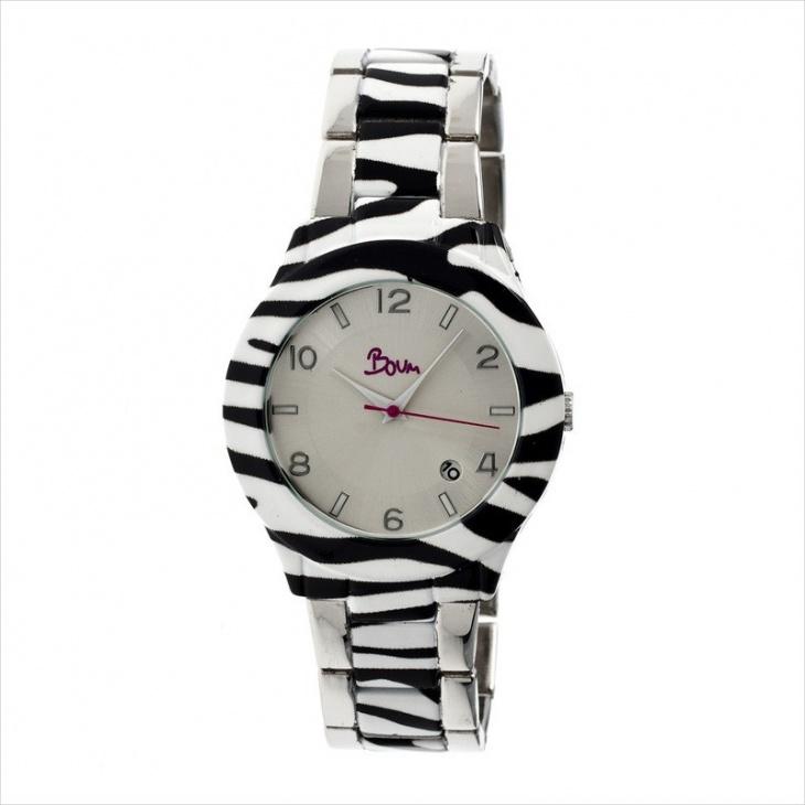 zebra print watches