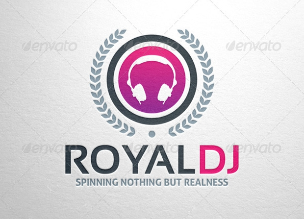 royal dj music logo