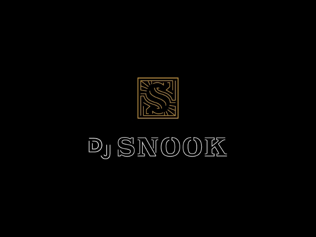 dj snook logo design